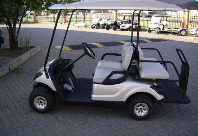 Yamaha The Drive Ptv Quietech Efi Petrol Golf Car Golf Car Associates