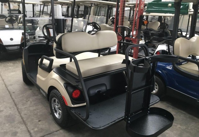 Yamaha The Drive² PTV QuieTech EFI Petrol Golf Car - Golf
